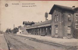 Zelzate Station Binnenzicht Der Statie Interieur De La Gare ZELDZAAM (minikreukje) - Zelzate