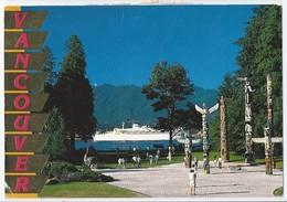 CA.- VANCOUVER. STANLEY PARK, TOTEM PARK. 1991 - Vancouver