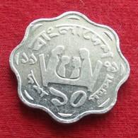 Bangladesh 10 Poisha 1979 KM# 11.1  Fao F.a.o. RARE  Bangladeche - Bangladesh