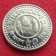Bangladesh 50 Poisha 1979 KM# 13  Fao F.a.o. RARE  Bangladeche - Bangladesh