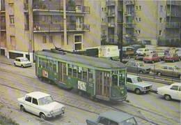 Tram ATM Carrelli 1928 1538 Linea 21 Al Capolinea Ortica Marzo 1974 Simca Mini Minor - Tram