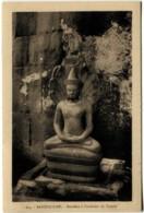 Cambodge ANGKOR VAT Bouddha à L'intérieur Du Temple - Cambodge