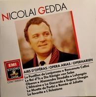 NICOLAI GEDDA. Ténor. Airs D'Opéra. 1 Cd. Emi 1988. - Oper & Operette