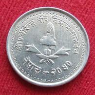 Nepal 25 Paisa  1993 UNCºº - Nepal