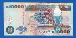 Zambie  10.000 Kwacha  Sup - Zambie