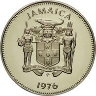 Monnaie, Jamaica, Elizabeth II, 10 Cents, 1976, Franklin Mint, USA, FDC - Jamaique