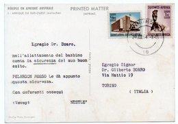 DEAR DOCTOR TYPE PUBL. PELARGON ROSSO / NESTLE' - AFRIQUE DU SUD-OUEST (AUTRUCHES) - Health