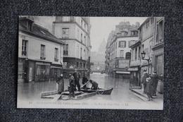 PARIS - Inondations De Janvier 1910 : La Rue Du Haut Pavé, ( 5 ème Arrondissement ) - Arrondissement: 05