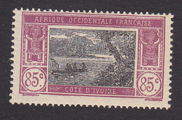 Ivory Coast, Scott #69, Mint Hinged, River Scene, Issued 1913 - Ivory Coast (1892-1944)