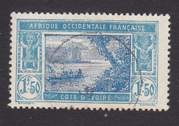 Ivory Coast, Scott #73, Used, River Scene, Issued 1913 - Côte-d'Ivoire (1892-1944)