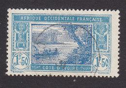 Ivory Coast, Scott #73, Used, River Scene, Issued 1913 - Ivory Coast (1892-1944)
