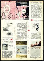"""Mini-récit N° 53 """" INVITATION SUR LES ONDES """" De Paul-Joël HERBET - Supplément à Spirou - Non Monté. - Spirou Magazine"""