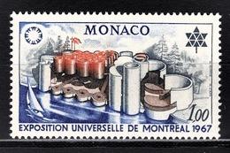 MONACO 1967 N° 727 NEUF  ** - Monaco