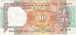 India 10 Rupees 1992 Pick 88g Ref 1904 - India