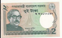 BANGLADESH 2 TAKA 2013 UNC P 52c - Bangladesh