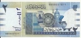 SOUDAN 2 POUNDS 2006 AUNC P 65 - Soudan