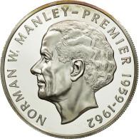 Monnaie, Jamaica, Elizabeth II, 5 Dollars, 1976, Franklin Mint, USA, FDC - Jamaique