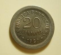Portugal 20 Centavos 1920 - Portugal