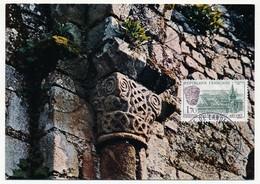 FRANCE - Carte Maximum - Abbaye De Landevennec - Cartes-Maximum