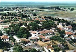 Cazaux Vue Aerienne Centre Du Village CPM Ou CPSM - France