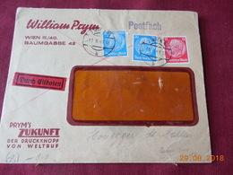 Lettre D Allemagne De 1941 (avec Bande De Controle Au Dos) A Destination De St Gallen (Suisse) - Briefe U. Dokumente