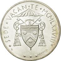 Monnaie, Cité Du Vatican, Sede Vacante, 500 Lire, 1978, Roma, SPL, Argent - Vaticano (Ciudad Del)