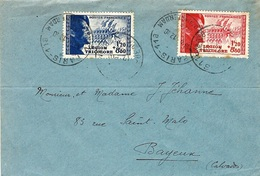 12-10- 1942 -enveloppe Affr. N° 565 Et 566 -1er Jour D'émission Légion Tricolore - FDC