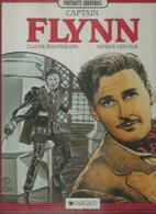 """"""" CAP'TAIN FLYNN  -  CLAUDE JEAN-PHILIPPE / LESUEUR -  E.O. MARS 1989  DARGAUD ( ERROL FLYNN ) - Non Classés"""