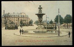 Reims - Place De La République - Fontaine Bartholdi - Reims