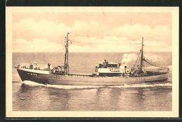 CPA Ostende, Onze Visschervloot - Pesca