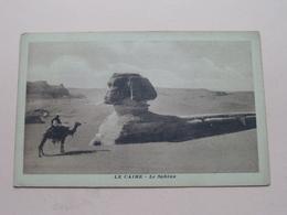 LE CAIRE - Le SPHINX ( Serie 54 ) Anno 19?? ( Zie/see/voir Photo ) ! - Le Caire