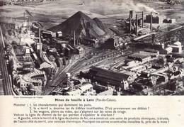 Vers 1955 - Iconographie - Lens (Pas-de-Calais) - Les Mines De Houille - FRANCO DE PORT - Vieux Papiers