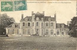 St-SEBASTIEN-LES-NANTES - Château Du Clos Sur L Eau  Façade Sud  28 - Saint-Sébastien-sur-Loire