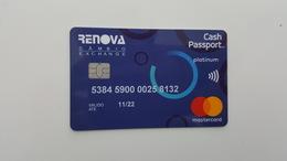 BRAZIL -  BANK CARD - MASTERCARD - FOR COLLECTION - Geldkarten (Ablauf Min. 10 Jahre)