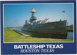 Houston - Battleship 'TEXAS' - San Jacinto Battleground  - (Texas, USA) - Guerra