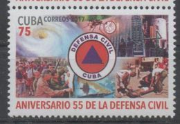 CIVIL DEFENSE , 2017, MNH, NATURAL DISASTERS, MOSQUITOES, 1v - Stamps