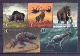 Belgie - 2018 - * Fauna  - Prehistorische Dieren * MNH - Stempel Voorverkoop - Belgien
