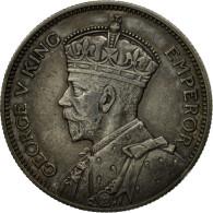 Monnaie, Fiji, George V, Shilling, 1936, TTB+, Argent, KM:4 - Fidji