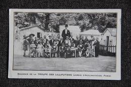 PARIS, Jardin D'acclimatation : Souvenir De La Troupe Des LILLIPUTIENS - Parcs, Jardins