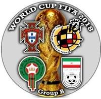 Pin FIFA 2018 Group B - Fútbol