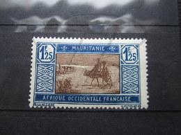 VEND BEAU TIMBRE DE MAURITANIE N° 59A , XX !!! - Mauritanie (1906-1944)
