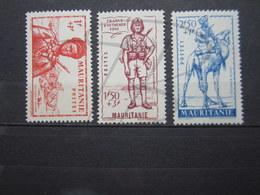 VEND BEAUX TIMBRES DE MAURITANIE N° 116 - 118 , XX !!! - Unused Stamps