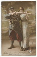Crime De Guerre Racisme Anti Allemand Chaque Balle, Regardes Bien Nous Debarrasse D' Un Prussien Poilu, Femme Dentelle - Oorlog 1914-18