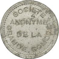 Monnaie, Comoros, 25 Centimes, 1915, Paris, TTB+, Aluminium, KM:Tn1, Lecompte:21 - Comoros