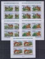 U24. Burundi - MNH - Nature - Animals - Cactuses - 2013 - Imperf - Stamps