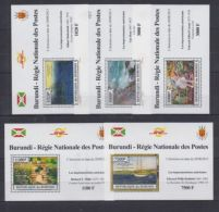 W24. Burundi - MNH - Art - Paintings - Artists - 2013 - Deluxe - Art