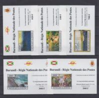 W24. Burundi - MNH - Art - Paintings - Artists - 2013 - Deluxe - Imperf - Art