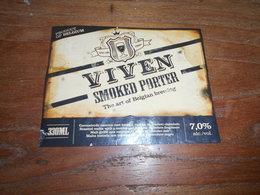 ETIQUETTE BIERE VIVEN SMOKED PORTER - Beer