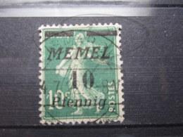 "VEND BEAU TIMBRE DE MEMEL N° 47 , CACHET "" BISMARK "" !!! - Memel (1920-1924)"