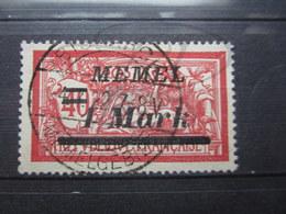 "VEND BEAU TIMBRE DE MEMEL N° 57 , CACHET "" BISMARK "" !!! - Memel (1920-1924)"